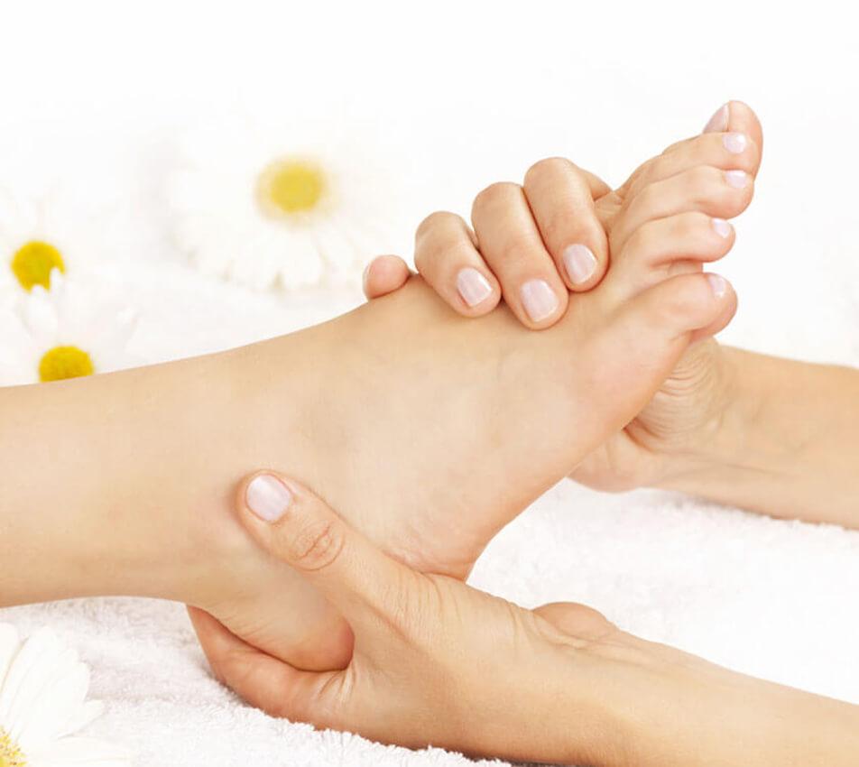 Masaż stóp - Refleksologiczny masaż stóp