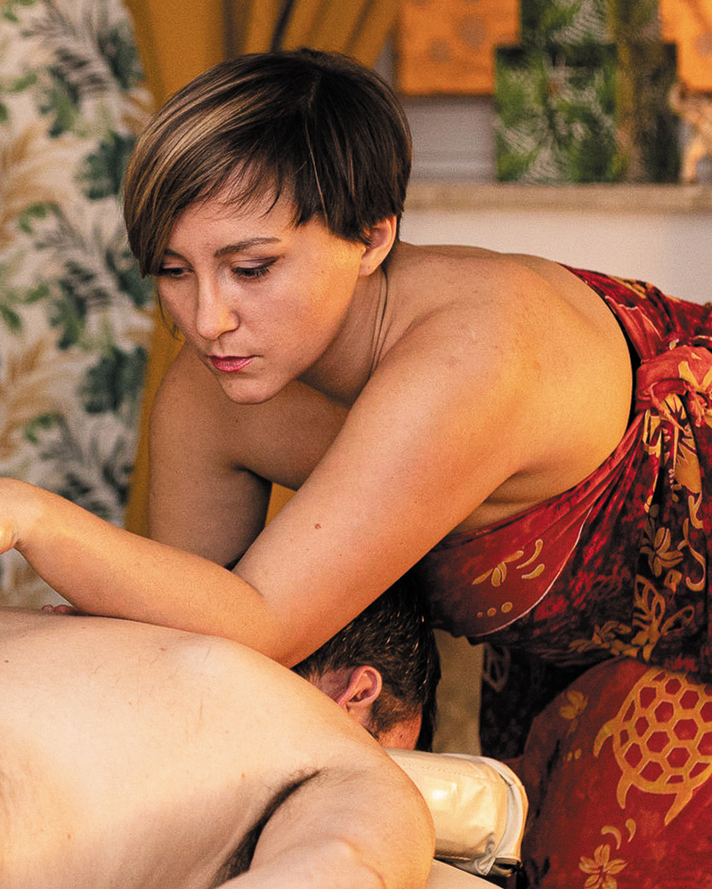 Hawajski masaż Lomi Lomi Nui